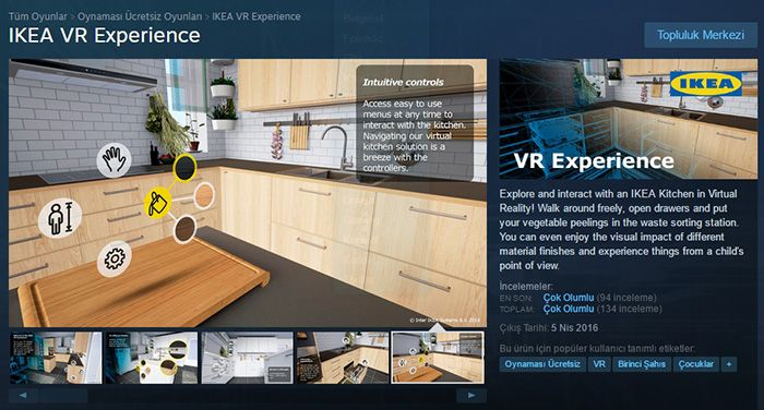 Htc Vive ikea Kitchen